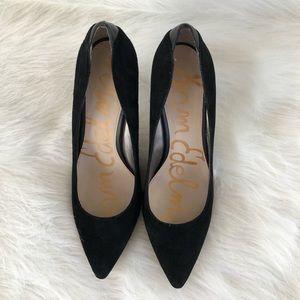 Sam Edelman Shoes - Sam Edelman black suede pumps 8